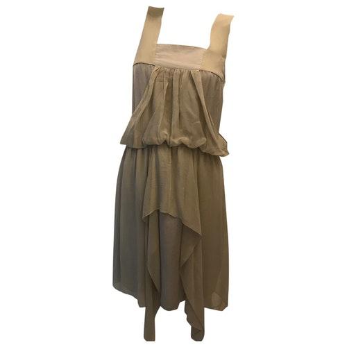 Vanessa Bruno Grey Silk Dress