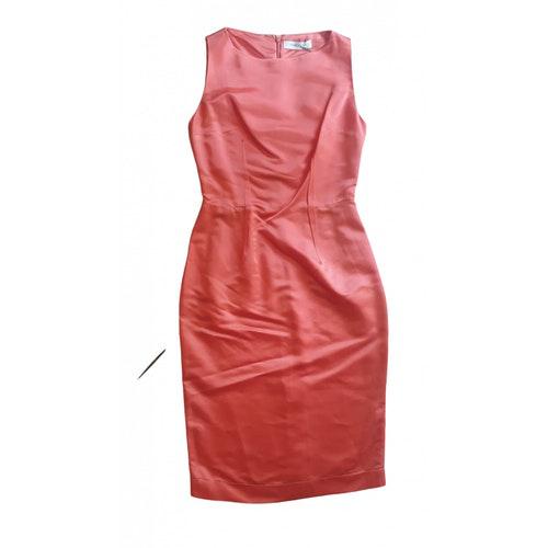 Pierre Balmain Orange Dress