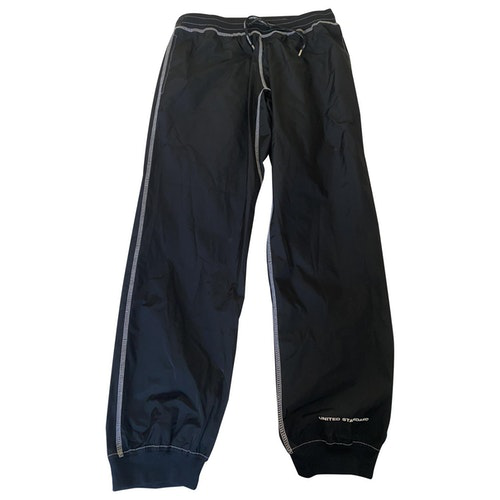 United Standard Black Spandex Trousers