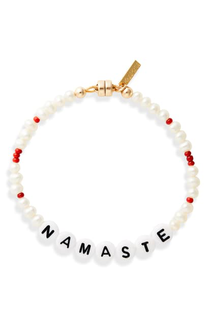 Eliou All The Feels Namaste Bracelet (nordstrom Exclusive) In Gold