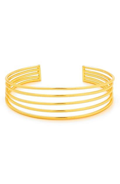 Gorjana 'carine' Cuff In Gold