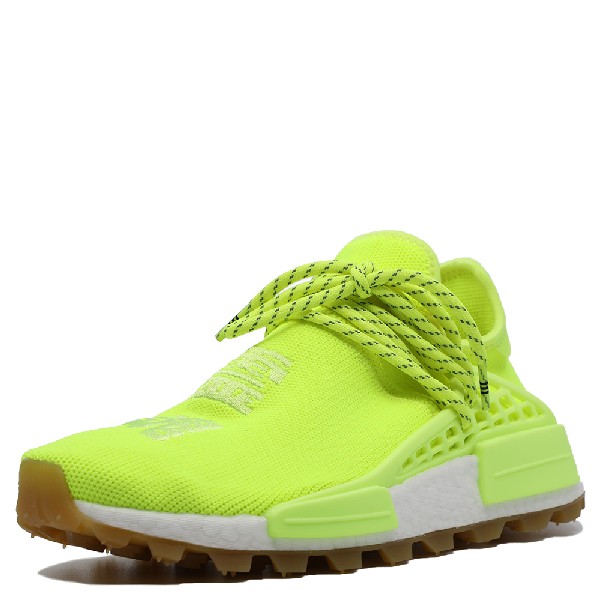 Adidas Originals Human Race Nmd Solar Yellow Sneakers Size 38