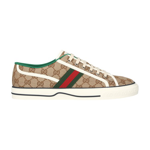 Gucci Tennis 1977 Vulcanised Low-top Sneakers In Neutrals