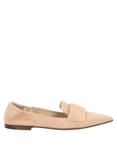 Pomme D'or Loafers In Pale Pink