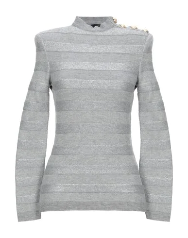 Balmain Sweater In Gray