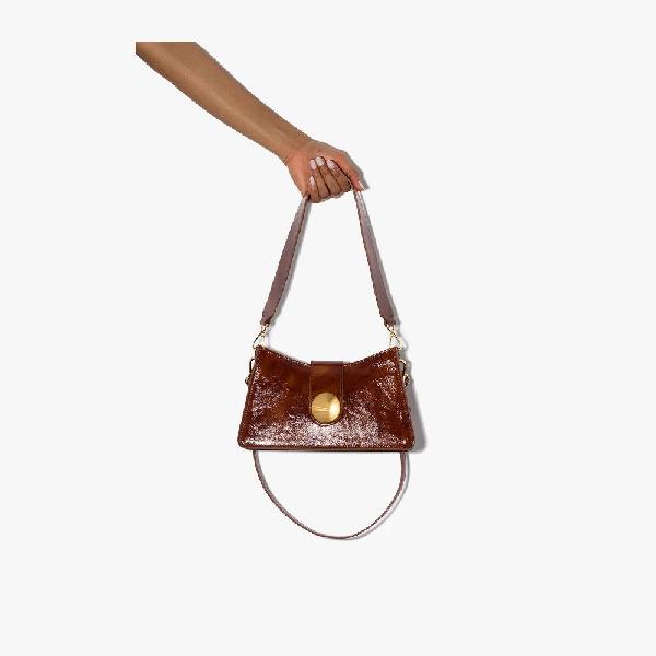 Elleme Baguette Shoulder Bag In Brown