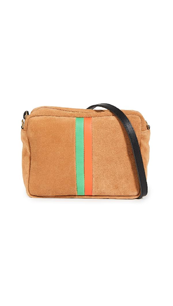 Clare V Midi Sac Bag In Camel