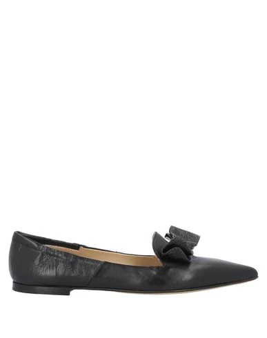Pomme D'or Loafers In Black