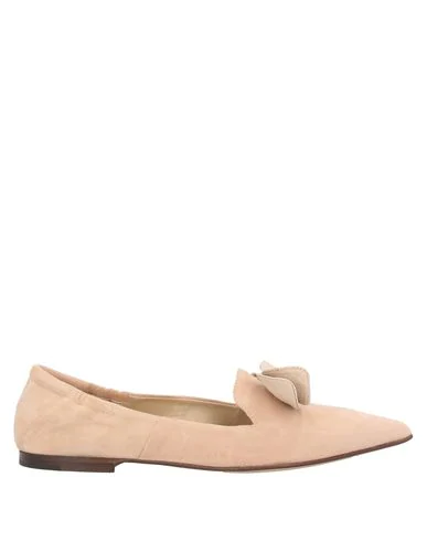 Pomme D'or Loafers In Light Pink