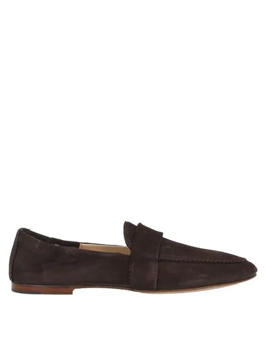 Pomme D'or Loafers In Dark Brown