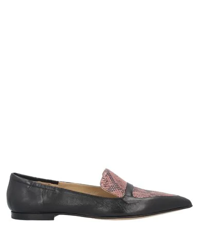 Pomme D'or Loafers In Pastel Pink