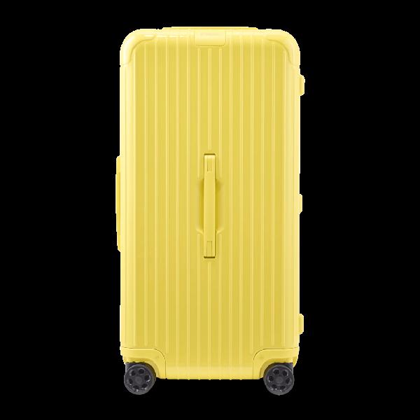 Rimowa Essential Essential Trunk Plus Large Suitcase In Saffron Yellow - Polycarbonate - 31,5x17x14,8 Polis