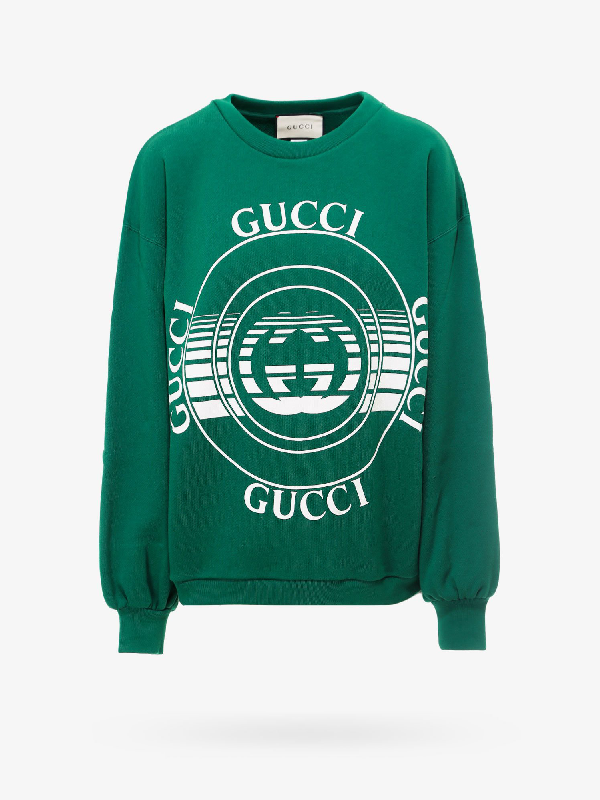 Gucci Sweatshirt In Green