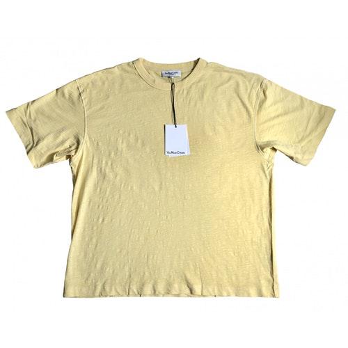 Ymc You Must Create Yellow Cotton T-shirts