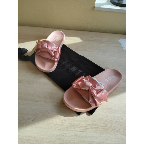Fenty X Puma Pink Sandals