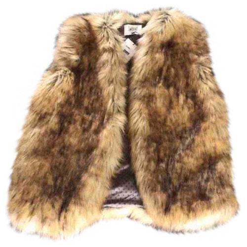 Swildens Brown Faux Fur Jacket