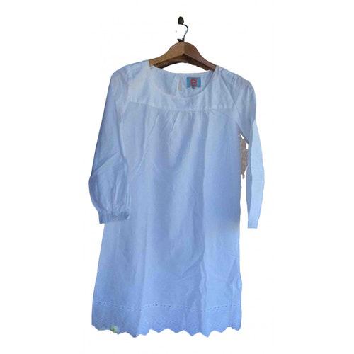 Bensimon White Cotton Dress