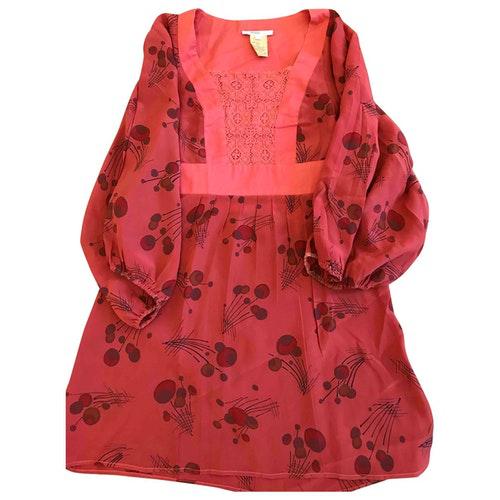 Vanessa Bruno Pink Silk Dress
