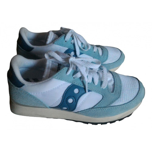 Saucony White Cloth Trainers