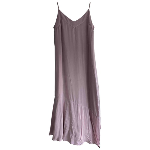 Equipment Purple Silk Dress