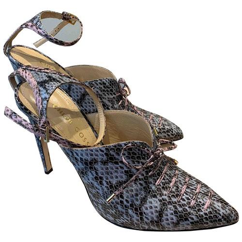 Chloe Gosselin Patent Leather Heels
