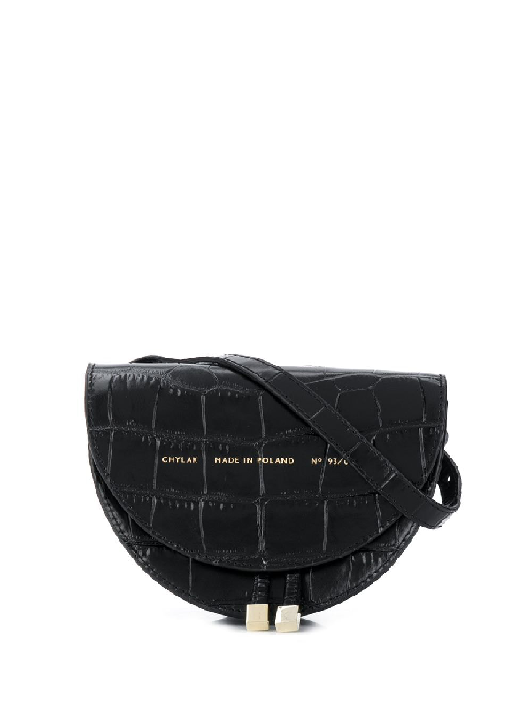 Chylak Mini Saddle Bag In Black