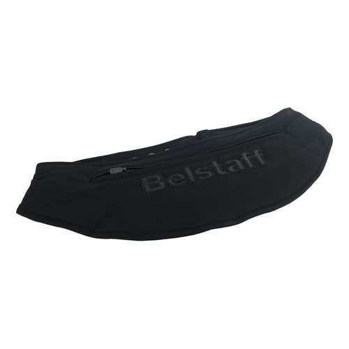 Belstaff Black Cotton Wallet