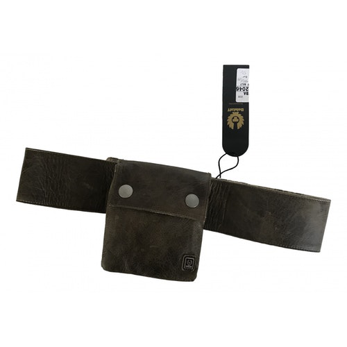 Belstaff Brown Leather Wallet