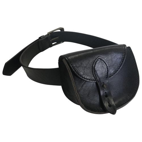 Belstaff Black Leather Belt