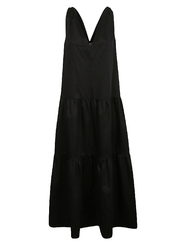 Les Coyotes De Paris Halle Dress In Black