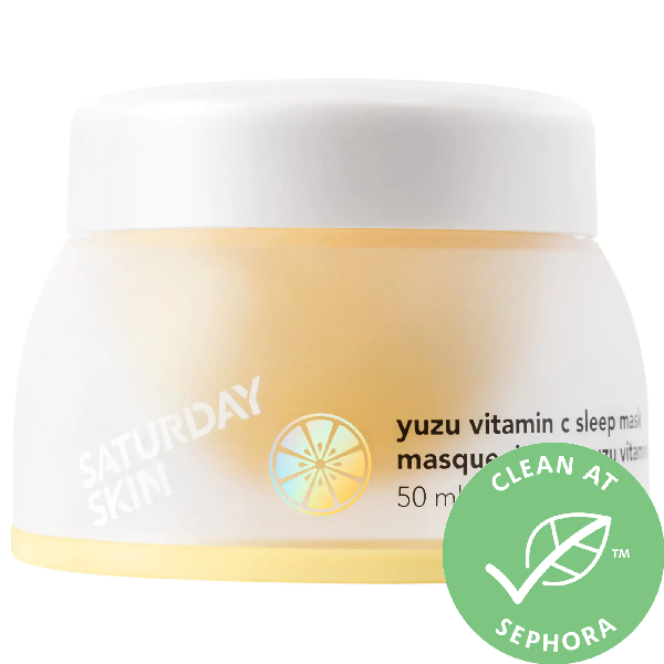 Saturday Skin Yuzu Vitamin C Sleep Mask 1.69 oz/ 50 ml