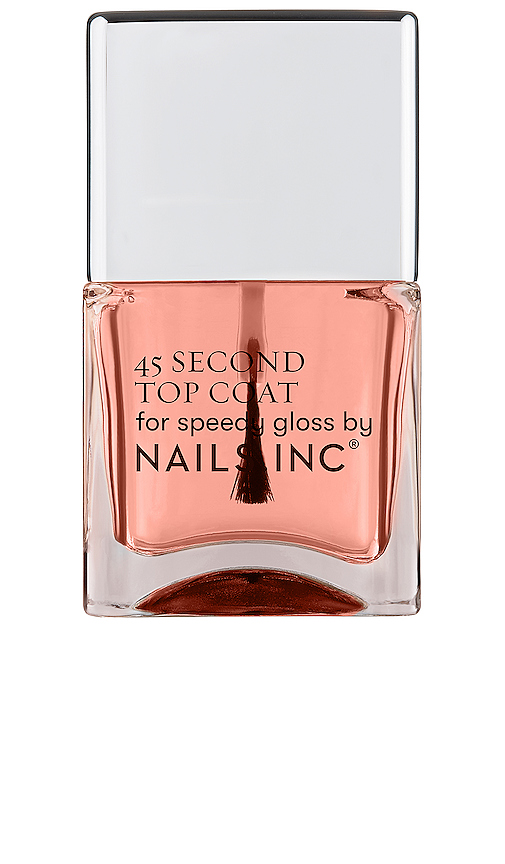 Nails.inc 45 Second Top Coat With Retinol In N,a