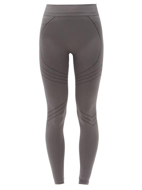 Prism Nurturing High-rise Stretch-jersey Leggings In Dark Grey