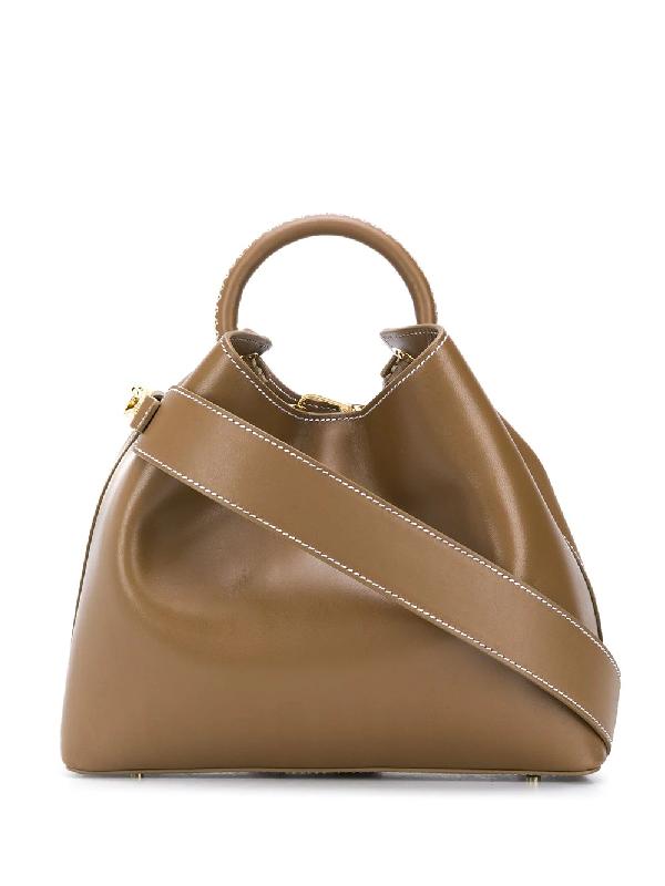 Elleme Raisin Shoulder Bag In Brown