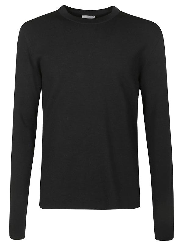 Dior Round Neck Sweater In Black