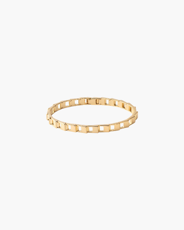 Miansai Cava Bracelet In Yellow Gold