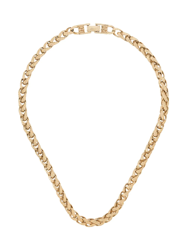 Givenchy 1980s Chunky Chain Necklace In Gold