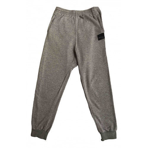 Adidas Originals Grey Cotton Trousers