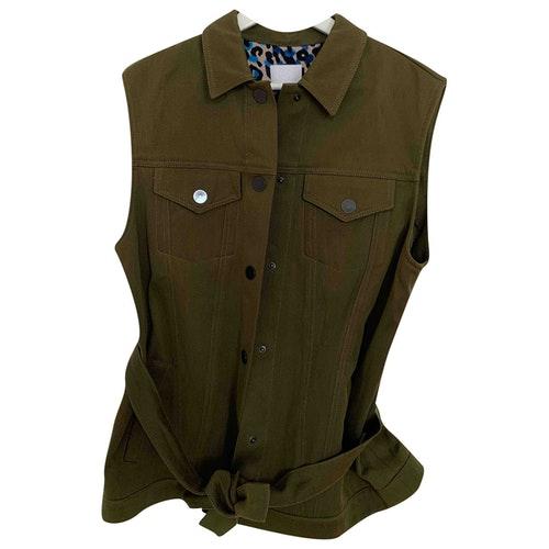 Lala Berlin Green Cotton Jacket