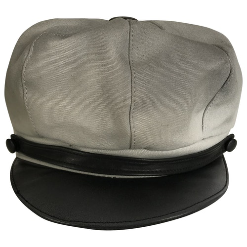 Belstaff Grey Cotton Hat