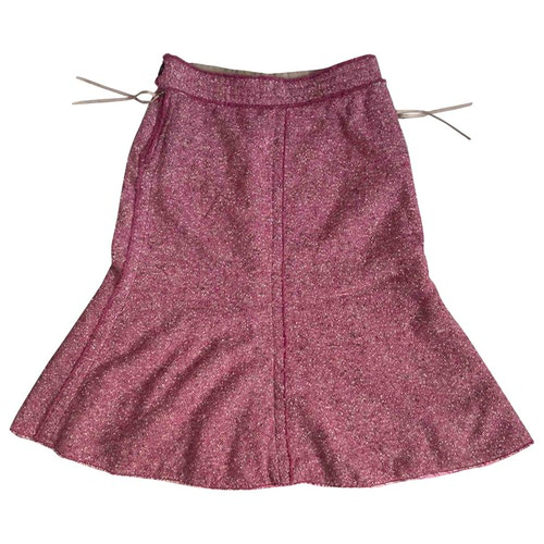 Marc Jacobs Pink Cotton Skirt