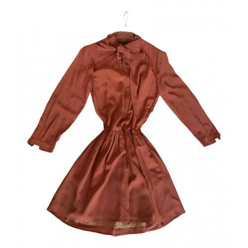 Belstaff Camel Silk Dress