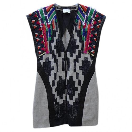 Barbara Bui Multicolour Linen Dress