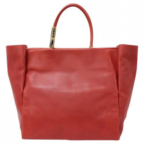 Lanvin Red Leather Handbag