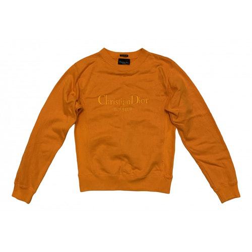 Dior Orange Cotton Knitwear & Sweatshirts