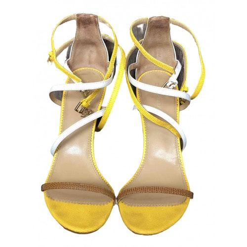 Dsquared2 Multicolour Leather Sandals