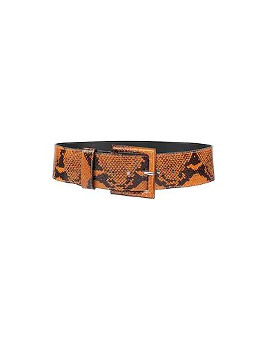 Ottod'ame High-waist Belt In Orange
