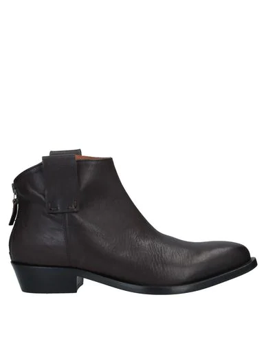 Alysi Ankle Boot In Dark Brown