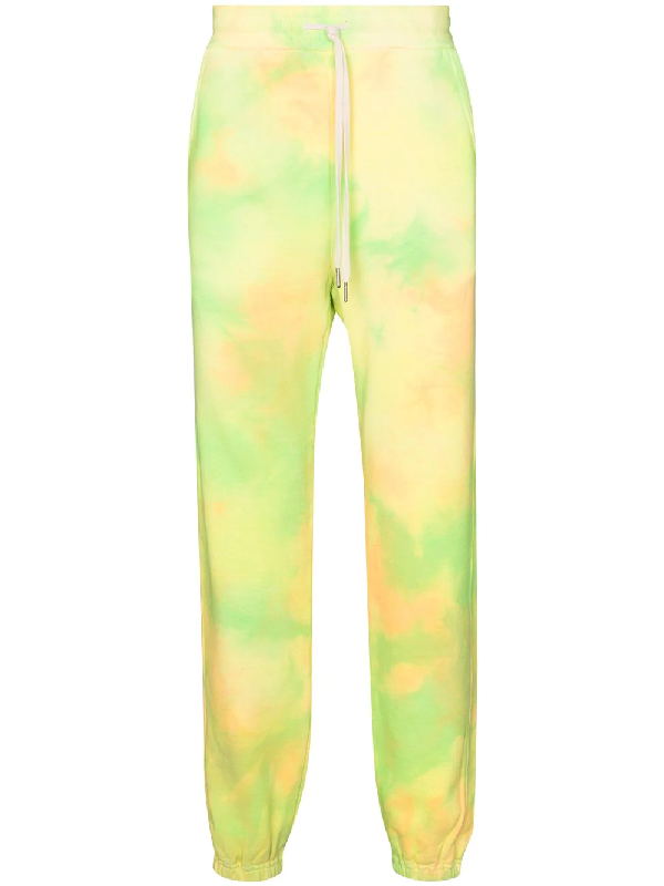 John Elliott Jogginghose Mit Batikmuster In Yellow