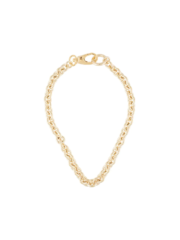 Laura Lombardi Cable Chain Necklace In Gold